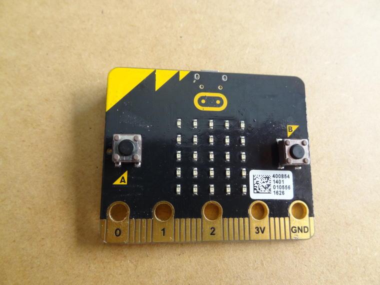 La console micro:bit